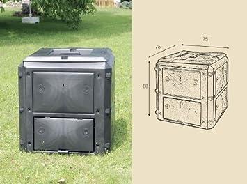 Bio Quick compostador Razón Variante 420 L gebändert