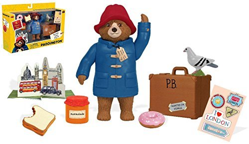 YOTTOY Paddington - POSEABLE FIGURE PLAYSET - An Instant Collection For The True Paddington Fan With 8 Collectibles