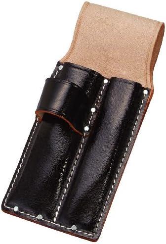 コヅチ(KOZUCHI) 黒床皮ノミ・ゲンノーケース2丁入 1寸、1寸4分 厚用 SC-15