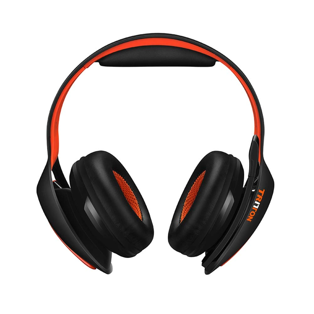 Tritton ARK200 Auriculares inalámbricos del juego de Bluetooth 2.4G con el adaptador de audio del USB y las luces LED para PS4, PC, interruptor de Nintendo: ...