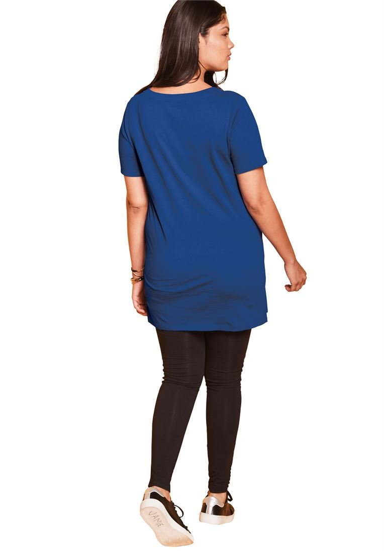 934b1ee9e0b Roamans Women s Plus Size V-Neck Maxi Tunic. by Roamans. Ultimate Tee ...