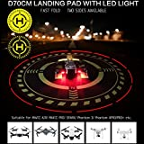 27'' LED Adjustable Night Light Large Drone Fast Landing Pad Folding For DJI Mavic Air Pro