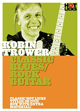 Amazon Robin Trower Classic Bluesrock Guitar Robin Trower