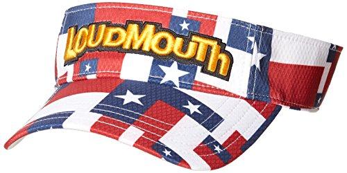 ペナルティシンカンモナリザラウドマウスゴルフ Loud Mouth Golf 帽子 サンバイザー