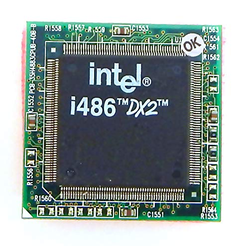 Intel - Intel Mobile 486-50 CPU SB80486DX2-50 SX920 - SB80486DX2-50