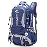 Awaytoy Hiking Backpack 40L Trekker Bag for Climbing Skiing Camping Travel Mountaineering Cycling Dark Blue Review
