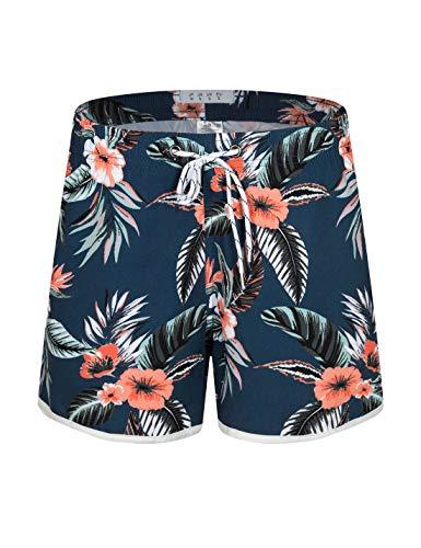 APTRO Damen Badeshorts Kurze Badehose Strand Wassersport Shorts Boardshorts UV Schutz Sommer Shorts