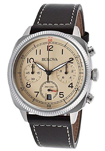 Bulova Men's 96B231 Analog Display Quartz Black Watch