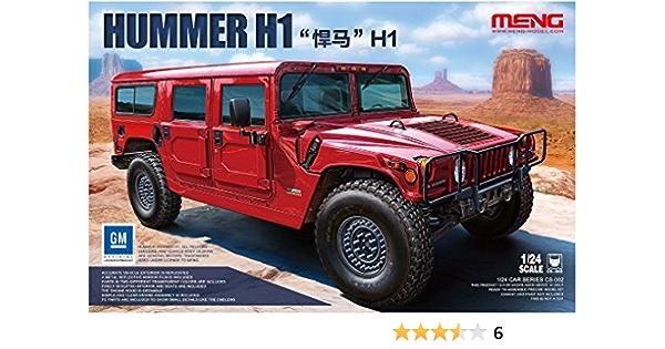 MNGSPS-033 Meng Model 1:24 Hummer H1 Upgrade Set