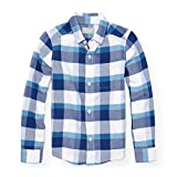 #3: The Children's Place Big Boys' Long Sleeve  Oxford Plaid