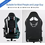 Upgrade-to-Large-Size-Kinsal-Gaming-Chair-High-back-Racing-Chair-Ergonomic-Computer-Chair-Leather-Premium-Swivel-Executive-Office-Chair-Including-Headrest-and-Lumbar-Pillow