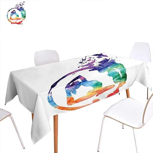 familytaste - Funda para Mesa de Yoga, diseño de Flor de ...