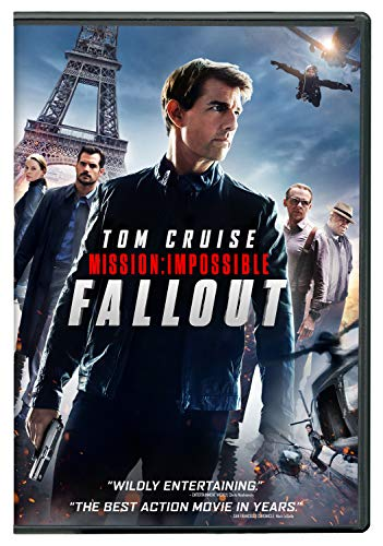 Tom Cruise (Actor), Rebecca Ferguson (Actor), Christopher McQuarrie (Director) | Rated: PG-13 (Parents Strongly Cautioned) | Format: DVD (262) Release Date: December 4, 2018   Buy new: $15.96$13.99 14 used & newfrom$12.85