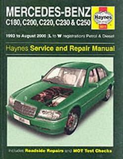 amazon com bentley paper repair manual mb c class w202 automotive rh amazon com service manual 2018 impreza service manual 2017 z650