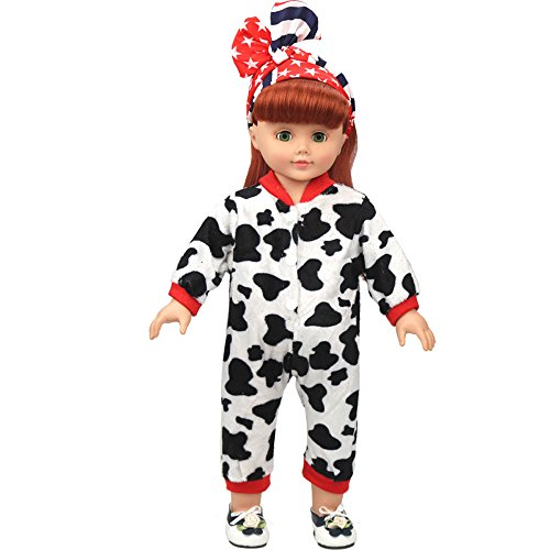 (AMOFINY New DIY Doll Clothes Dress Doll Baby Kids Gifts Jumpsuit Party For 18 Inch)