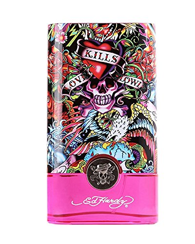 - Ed Hardy Hearts & Daggers by Christian Audigier for Women - 3.4 oz EDP Spray (Package may vary)