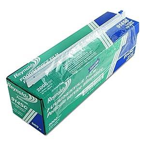 "Reynolds 914SC 2000' Length x 18"" Width, PVC Foodservice Wrap Film with Slide Cutter"