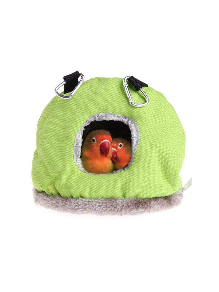 Medium-sized Large Birds African Grey Parrots MRlegendary Bird Nest-Windproof Round Hanging Swing Bed Cave House For Small Pets Woodpecker,Suitable For Long-tailed Parrots
