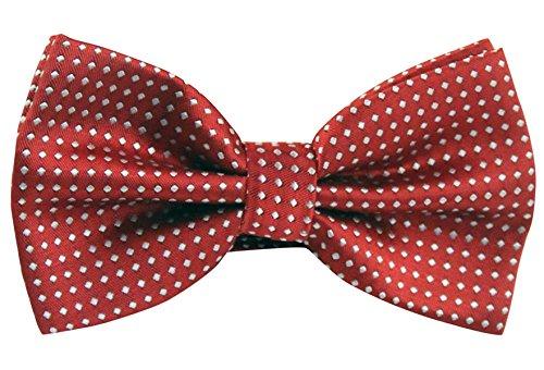 Panegy-Mens-Polka-Dots-Textured-Pre-tied-Adjustable-Length-Formal-Tuxedo-Bowtie
