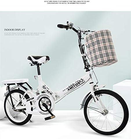 OJBKNEWBEE Bicicleta Plegable: Amazon.es: Deportes y aire libre