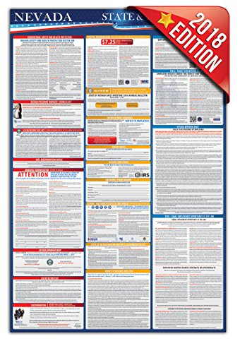 Update Domestic Kit (2018 Nevada State and Federal Osha Compliant Labor Law Posters 24