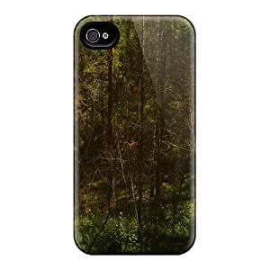 Iphone 4/4s Case Cover The Changing Forest Case - Eco-friendly Packaging
