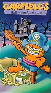 Garfield's Halloween Adventure [VHS]