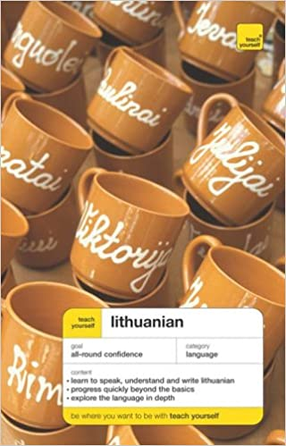 Teach Yourself Lithuanian Complete Course Package Book+ 2CDs