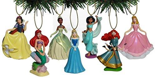 Disney Princess 7 pc Figurine Ornament Set