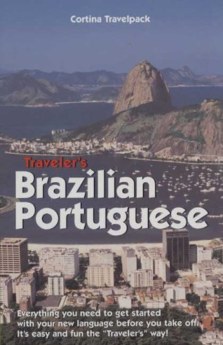 Traveler's Brazilian Portuguese-traveler's Brazilian Portuguese Course ( 2 Cds, Vest Pocket Textbook and Study Guide)