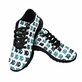 InterestPrint Women's Go Easy Walking Comfort Sports Athletic Shoes Pillows, Wallpapers, Cloth, Bags 7 B(M) US