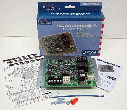 - ICM Controls ICM2805A Furnace Control Replacement for Nor Dyne 624631 Control Boards, Used with G3, G4, G5, G6, M2 and M3 Furnace Modules