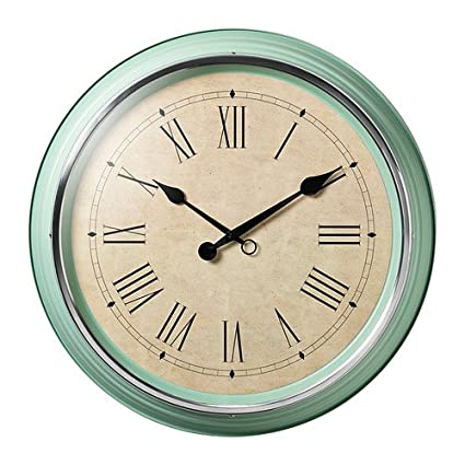 IKEA SKOVEL - Reloj de pared, verdes - 59 cm