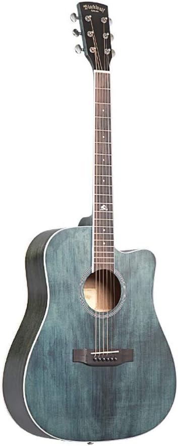 Miiliedy Minimalista Serie Retro Guitarra Acústica 41 pulgadas Principiantes Estudiantes Avanzados Hombres Mujeres Guitarra de Una Sola Tabla Hecha A Mano de Alta Calidad Tono Nivel de Juego Guitarra