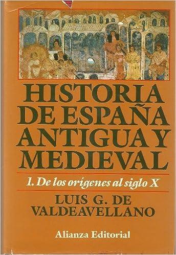 Historia de España antigua y medieval.; t.1: Amazon.es: Valdeavellano, Luis G.: Libros
