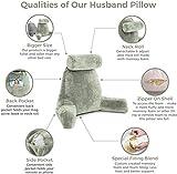 Husband Pillow - Desert Sage, Big Backrest Reading