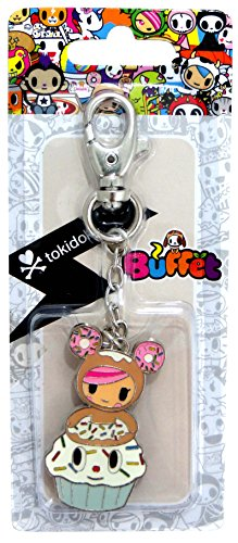 Tokidoki Buffet Keychains (Donutella Cupcake)