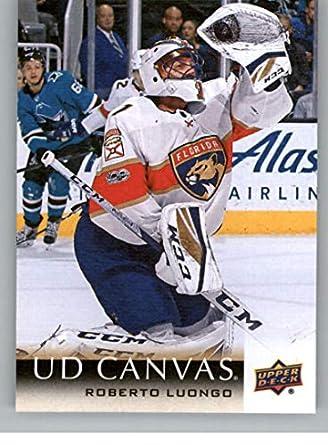 Amazon Com 2018 19 Upper Deck Canvas Hockey Card C37 Roberto