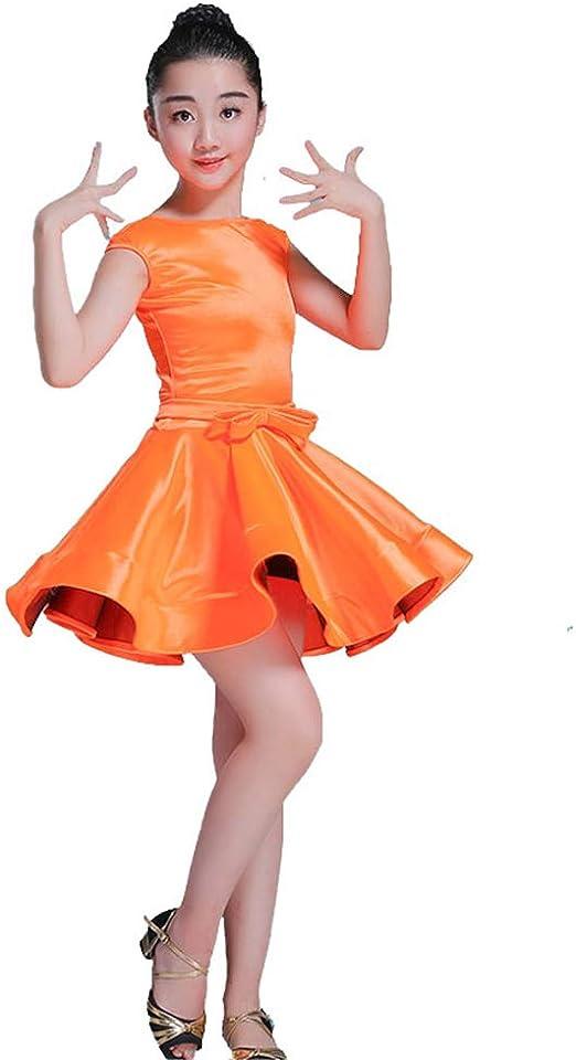 Belingeya Los niños Bailan Trajes de Vestir Vestido de niña Falda ...