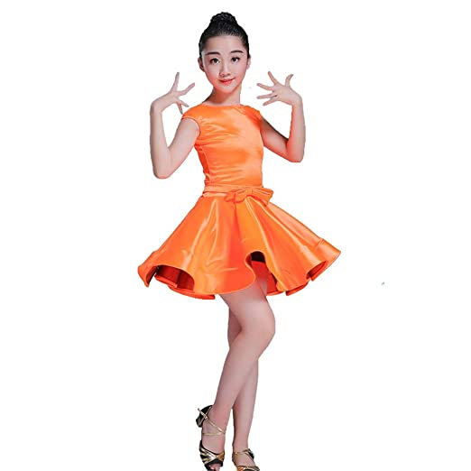 Vestido de niña Falda Vestido de Baile Latino Traje de Baile ...