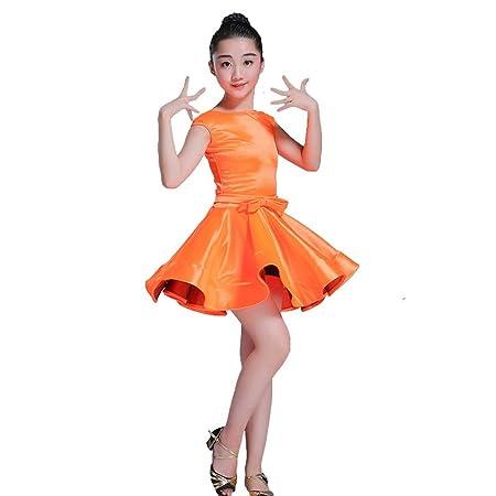 Vestido de niña Falda Vestido de Baile Latino Traje de Baile de ...