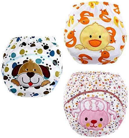 for 18-36 Months Size XL 100 3 Pack Baby Toddler Potty Training Pants Reusable Washable Underwears Diapers