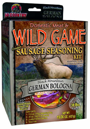 Hi-Country Snack Foods Domestic Meat and WILD GAME 15.06 oz German Bologna (Country Meat Sausage)
