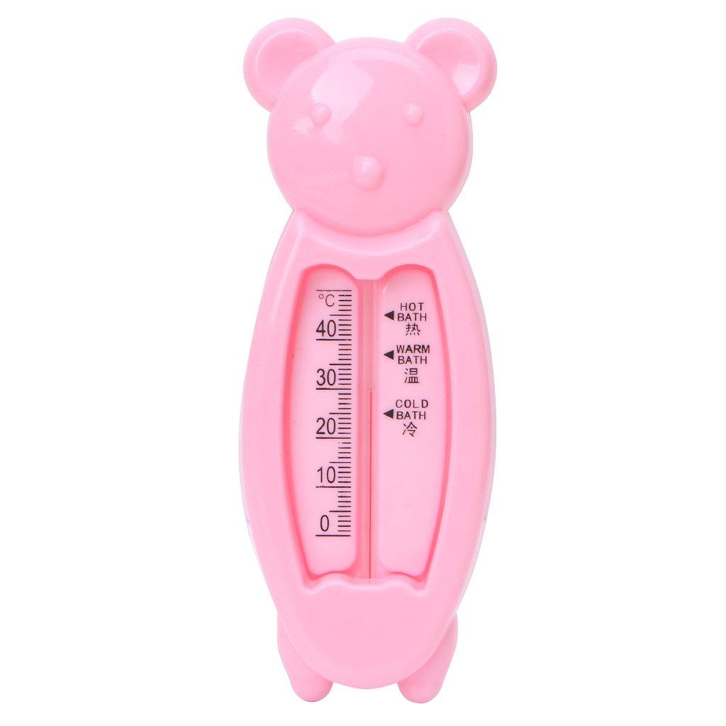 Nankod Baby Infant Lovely Plastic Floating Bear Bathtub Water Sensor Thermometer Tester