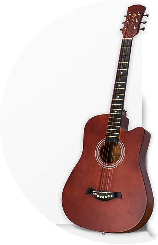 BAIYING Guitarra Acústica 38 Pulgadas Principiante Balada Sonido ...