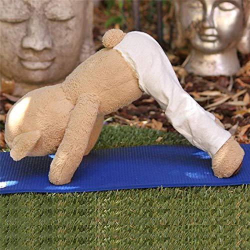 Oso de peluche suave para yoga, peluche, flexible, extraíble ...