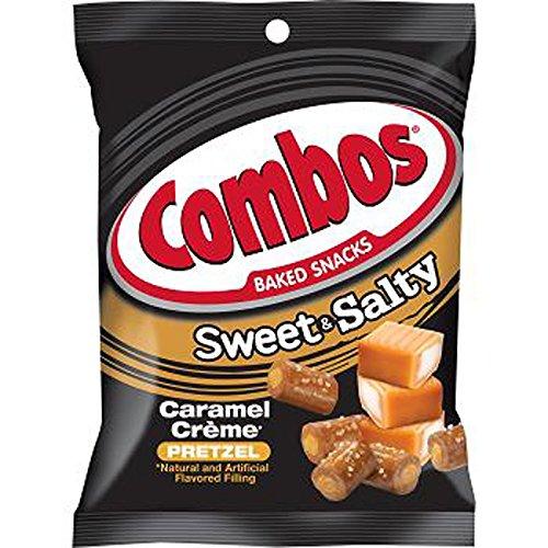 Combos Sweet & Salty Caramel Creme Pretzel - Bag, 1 Count (SNACKS - PRETZELS/PRETZEL MIX)
