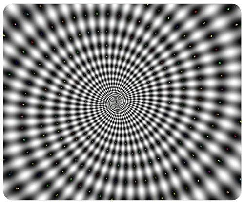 Price comparison product image Hypnotic Spinning Spiral Optical Illusion Gaming Mouse Pad Mousepad Mat