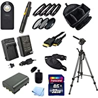 Starter Acessory Kit for Canon XT, 350D, XTI and 400D