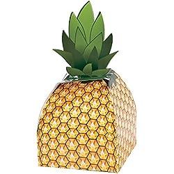 Pineapple Favor Boxes 1 Dozen